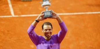 Nadal destrona a Djokovic y conquista la décima en Roma