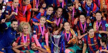 El Barcelona femenil consigue su primera Liga de Campeones