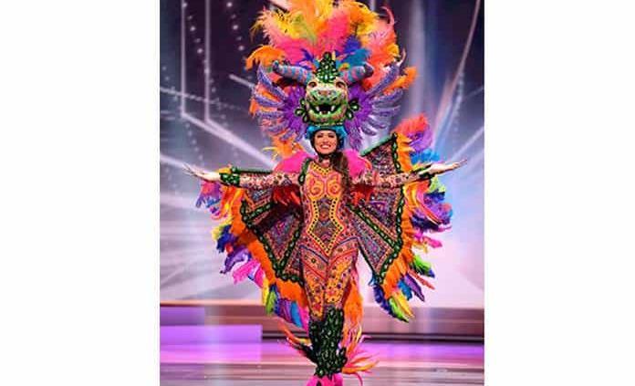 Andrea Meza relata la complejidad de portar el traje típico con el que representó a México en Miss Universo