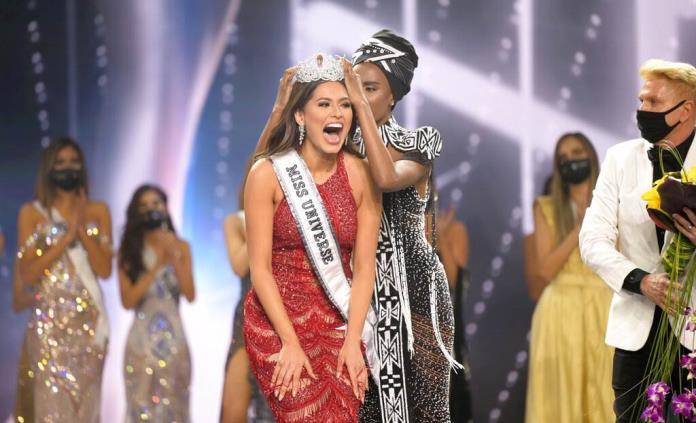 Celebran en Chihuahua triunfo de Andrea Meza en Miss Universo