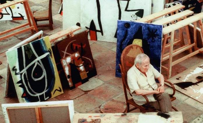 El diálogo improbable entre el catalán Joan Miró y el chino Zao Wou-Ki