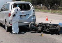 Muere un motociclista al chocar en Anillo Periférico