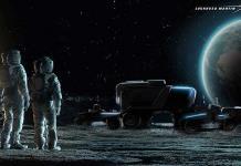 Nuevo vehículo de GM: un todoterreno autónomo lunar