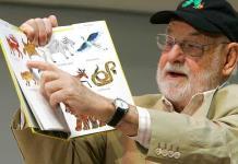 Muere Eric Carle, autor de La oruga muy hambrienta
