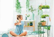 Decora tu recámara con plantas