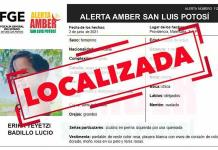 Desactivan Alerta Amber por menor en Matehuala