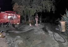 En la ruina quedan cuatro familias a causa de un incendio