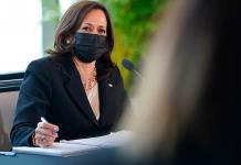 Kamala Harris se reúne con mexicanas emprendedoras