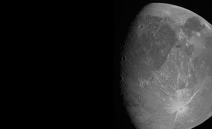 Sonda Juno se acerca a la luna más grande de Júpiter