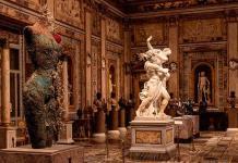 Damien  Hirst, cara a cara con Bernini en la Galleria Borghese