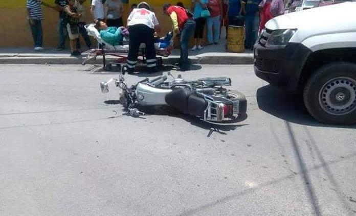 Se incrementan los accidentes en moto