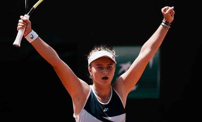 Krejcikova jugará su 1ra. semifinal de un Grand Slam