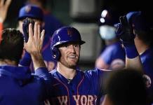 Mets disparan seis cuadrangulares en paliza sobre Orioles