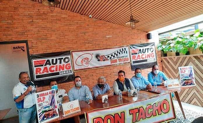 """Presentan lid de resistencia """"3 Horas de San Luis Potosí"""""""