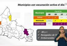 Desairan habitantes de Salinas vacunación de personas de 40 y más