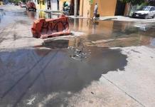 Protestan por aguas negras en las colonias San Francisco y San Antonio