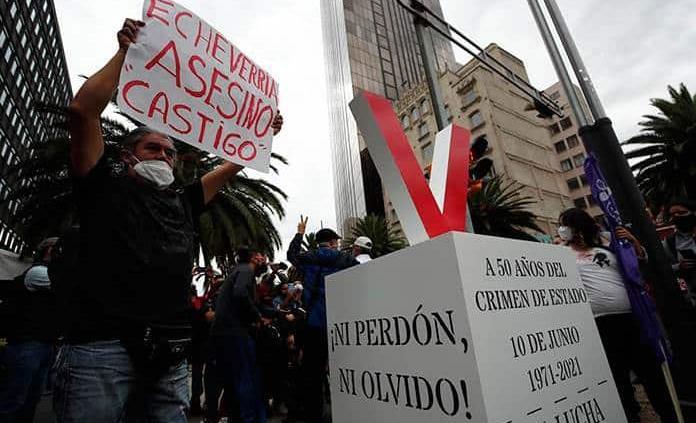 Miles conmemoran y exigen justicia a 50 años del Halconazo