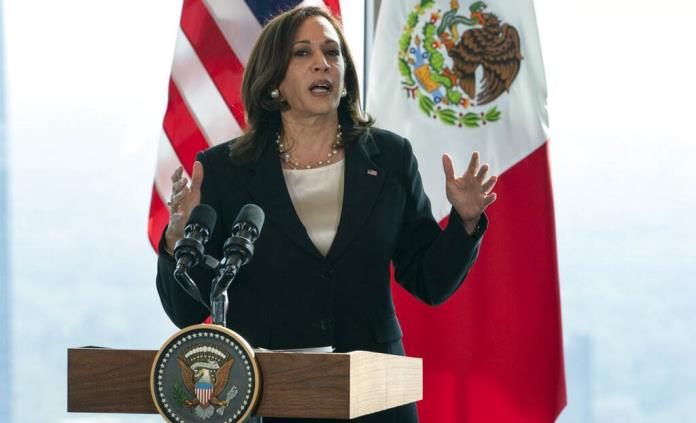 Harris pidió a México y Guatemala que dejen trabajar a las ONG y la prensa