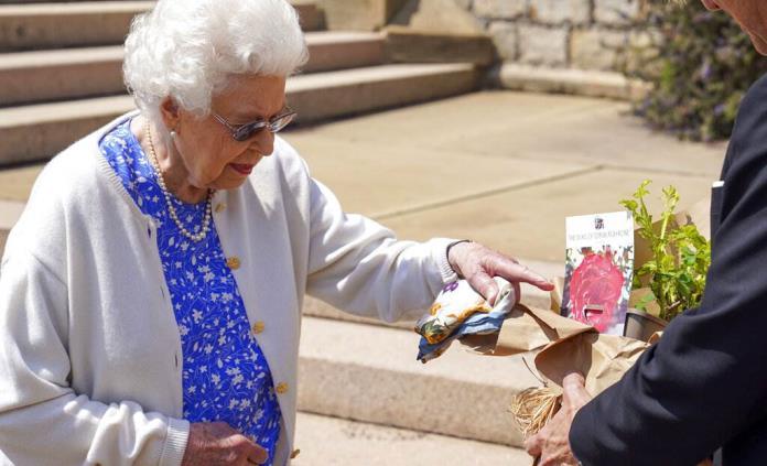 Isabel II marcó con un rosal el que hubiera sido el centenario del duque