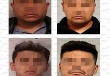 Aprehenden a cuatro sujetos por presunto robo domiciliario
