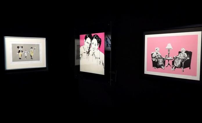 Banksy, un genio o vándalo en una exposición inmersiva que llega a Bruselas