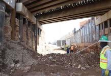 Liberan obstáculos del puente Pemex