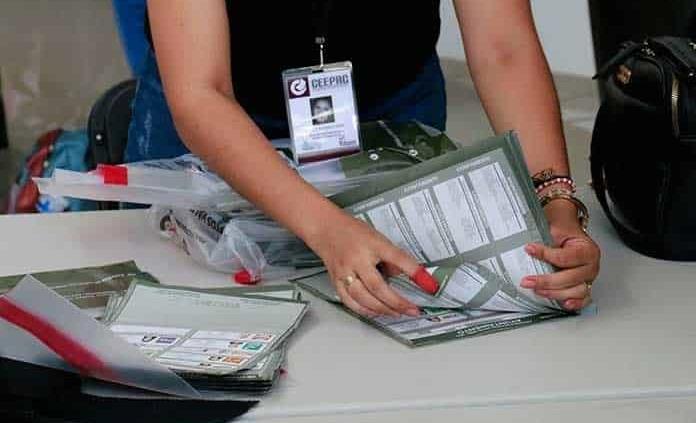 Recuento de votos en diez municipios