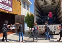 Trasladan al Ceepac paquetes electorales de la capital, para recuento
