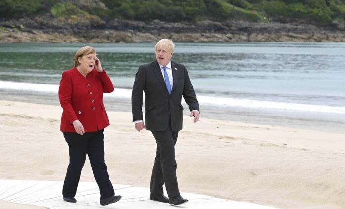 Cerrado por covid, un hotel del G7 con miembros de la delegación alemana