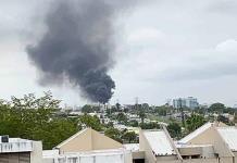 Investigan incendio en subestación eléctrica en Puerto Rico
