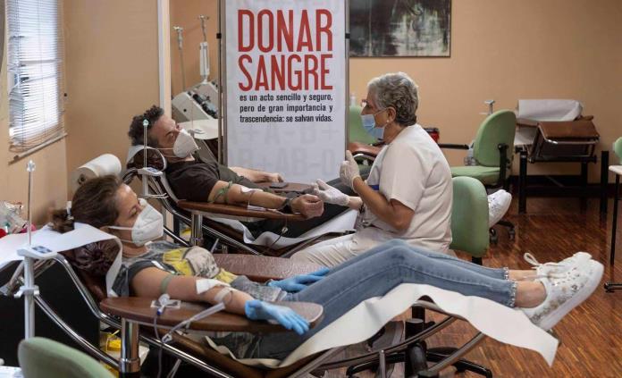 Los vacunados contra la covid-19 sí pueden donar sangre
