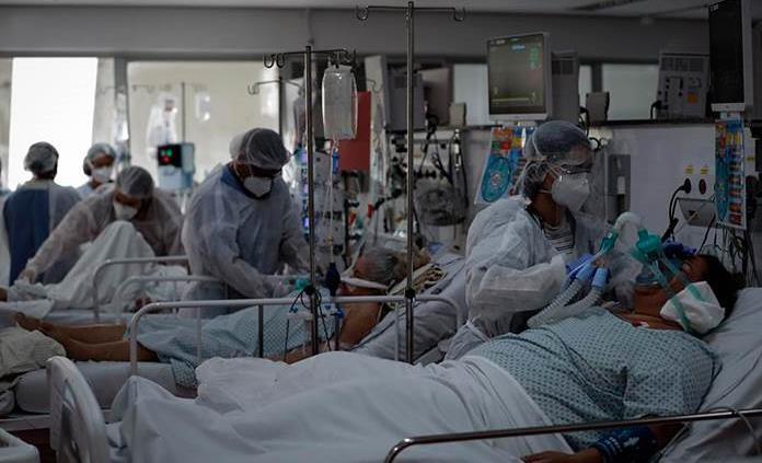 Brasil registra más 2,000 muertes por covid por cuarto día consecutivo