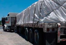 Recuperan tráiler robado con carga de cemento