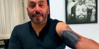 Así se borró Lupillo Rivera el tatuaje de Belinda