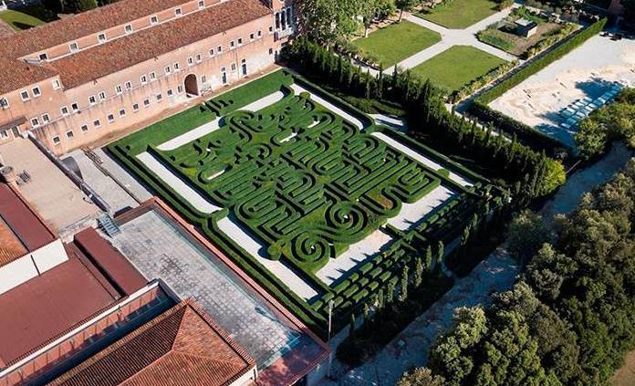Abre al público por primera vez el laberinto dedicado a Borges en Venecia
