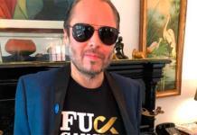 Lino Nava celebra que está libre de cáncer