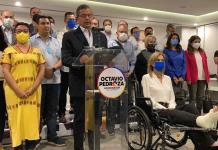 Resultados electorales provinieron de un proceso que careció de transparencia y confiabilidad: Octavio