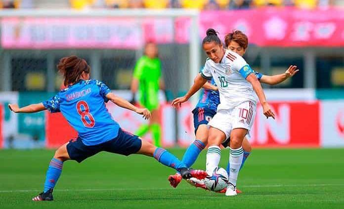 Japón golea a la Selección Mexicana Femenil