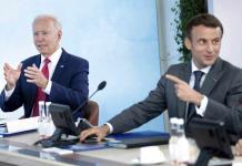 Macron expresa aprecio por retorno de EEUU al escenario mundial