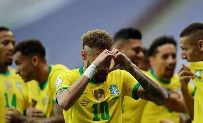 Brasil golea a Venezuela