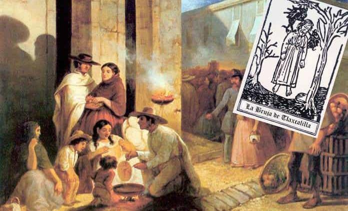 Hechicería colonial en Tlaxcalilla