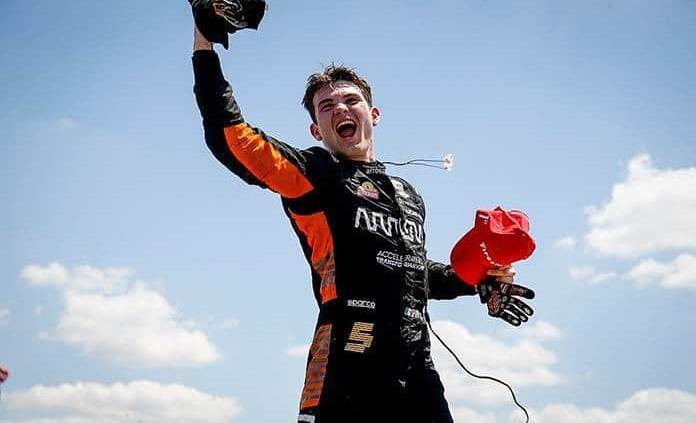 Patricio O´Ward triunfa en el Gran Premio de Detroit