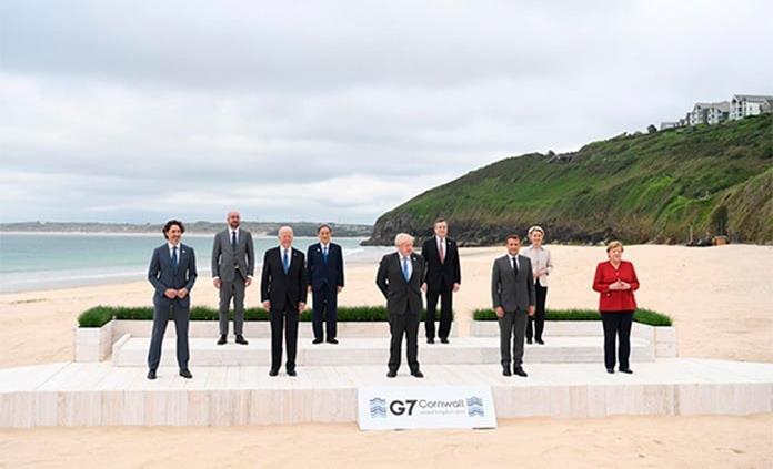 El G7 acuerda la donación de mil millones de vacunas a países pobres