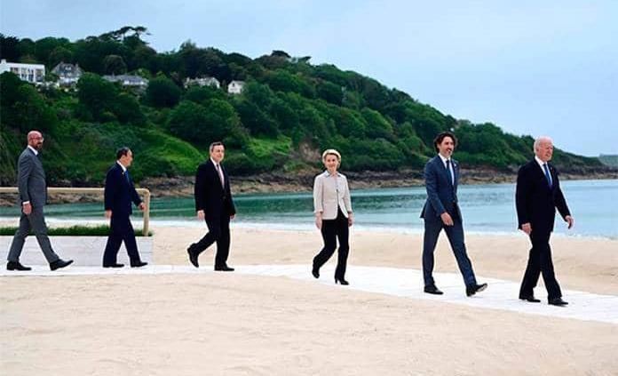 Los compromisos clave de la cumbre del G7 en Cornualles