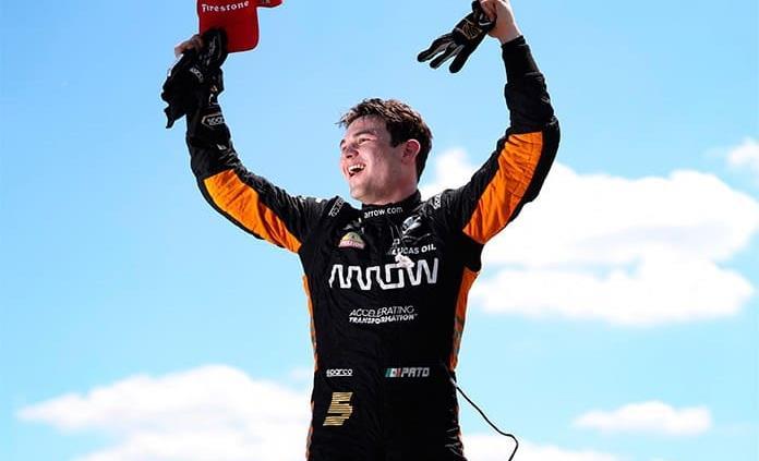 Patricio OWard gana el GP de Detroit