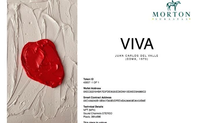 La subasta del primer NFT en México marca historia en el arte contemporáneo