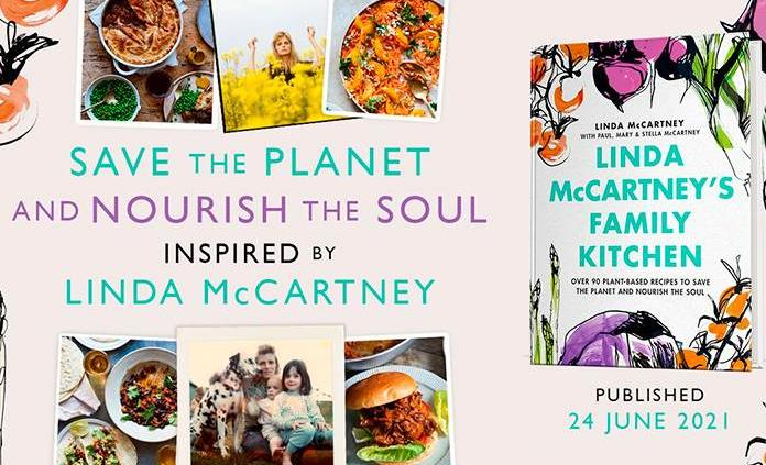 La cocina familiar de Linda McCartney revela lo que comen los McCartney