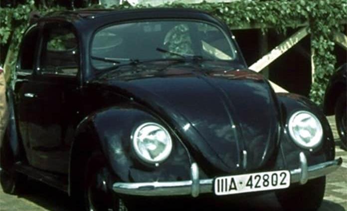 El color del primer Volkswagen Sedán