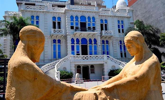 Devolver a la vida el museo más icónico de Beirut, cristal a cristal