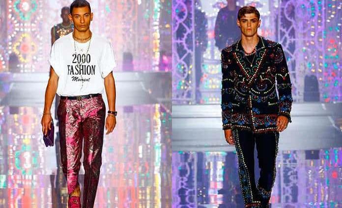 Dolce & Gabbana deslumbran en Milán con un desfile lleno de color y glamour